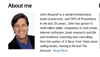 John Assaraf Scam, John Assaraf Fraud, Winning the Game of Money, Winning the Game of Weight-loss