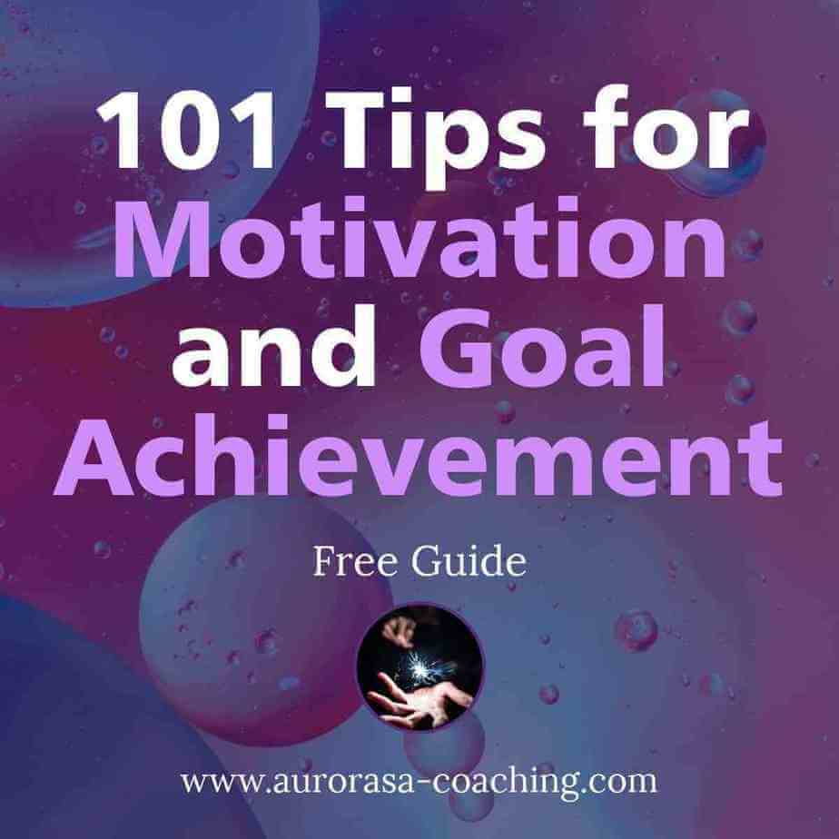 101 tips motivation goal achievement square1