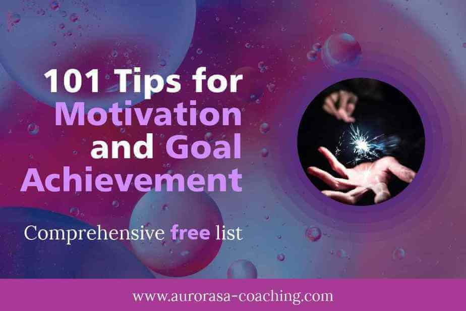 101 tips motivation goal achievement guide